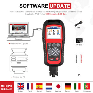 Image 5 - Autel MaxiTPMS TS601 TPMS Tool Wireless TPMS Sensor Reset Relearn Activate Programming with OBD2 diagnostic Code Reader scanner
