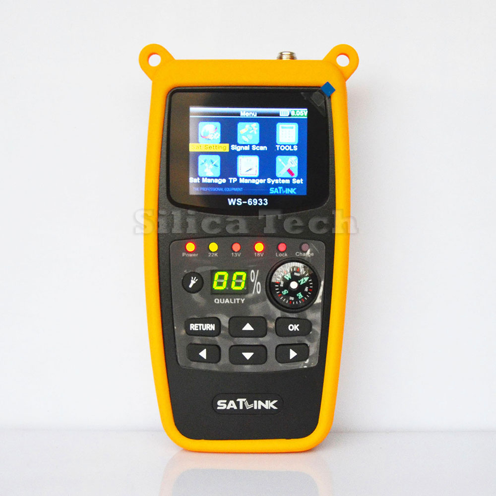Original New Satlink WS 6933 DVB S2 FTA C&KU Band Digital