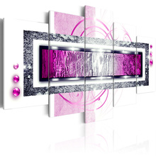 5 pieces/set Abstract poster night view Picture Print Painting On Canvas Wall Art Home Decor Living Room Canvas Art PJMT-B (231) цена
