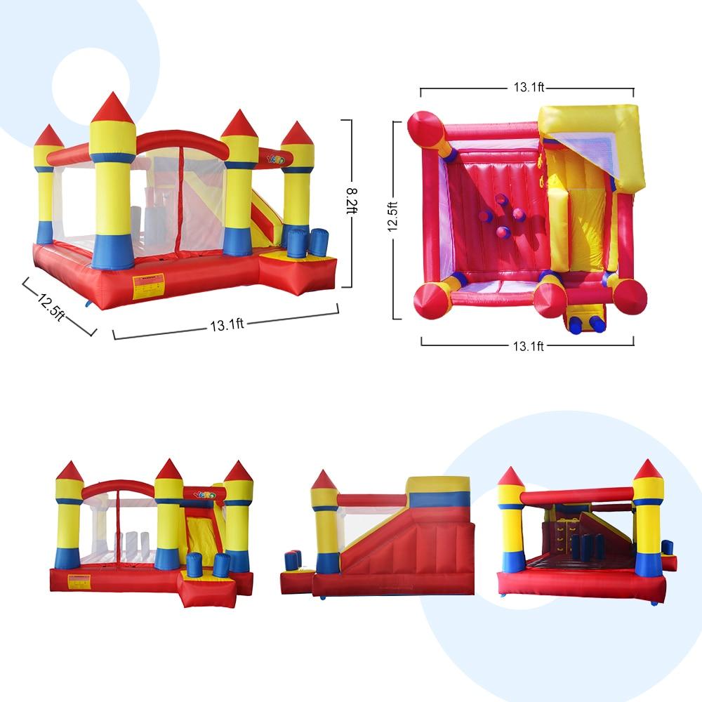 YARD Uşaqlar Şişmə Bouncy Atlama Qala Şişmə Bouncer Uşaqlar - Açıq havada əyləncə və idman - Fotoqrafiya 6