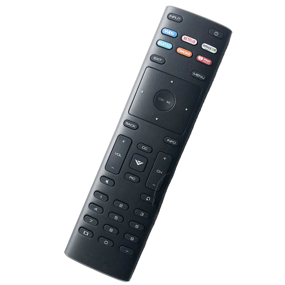 Reasonable New Remote Control Suitable For Vizio Xrt136 Lcd Tv Controller D24f-f1 D43f-f1 D50f-f1 M50-e1 M55-e0 M65-e0 With App Shortcuts Unequal In Performance Remote Controls Consumer Electronics