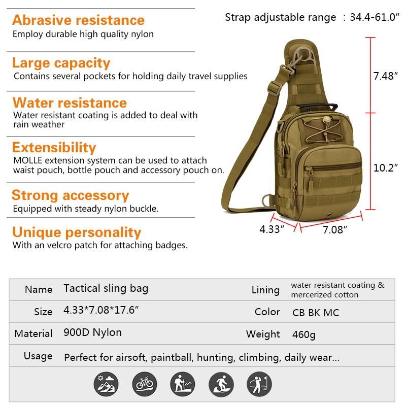 Gamma Piccolo Assalto Black coyote Pacco Zaini Outdoor Brown Borse Bg3505 Daypacks Sling Esercito Tactical Molle Militare Spalla multicam Zaino Idogear Edc S8wrqXxS