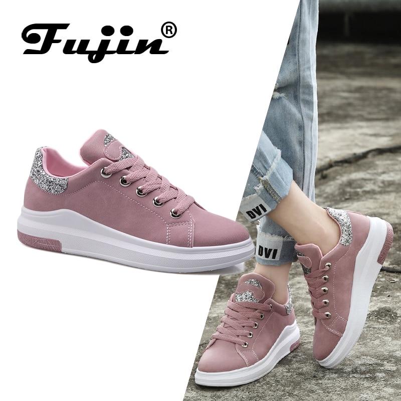 Sneakers Shoes Platform Classic Autumn Cotton Women Lace-Up Spring Fuijin Female Fashion