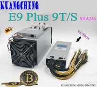 Ebit E9 Plus 9T Bitcoin Miner mieux que Antminer S7 Asic Miner BTC Miner (avec psu) BTC BCH Miner