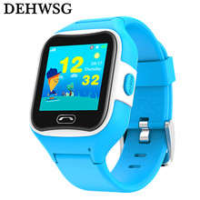 M2 GPS Child Smart Watch Phone Position Children Watch IP67 Waterproof 1.3 inch Color Touch Screen SOS Smart Baby Watch Q90 Q50(China)
