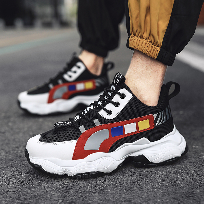 HOT Sneakers Men New Fashion Wild Casual Shoes High Quality Soft Comfort Light Non slip PU