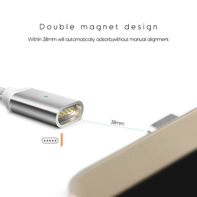 Suntaiho Magnetic Charger Micro USB Cable for Redmi Note 5A Data Sync Fast Charging Cable for Samsung Galaxy C5 S7 Huawei Cable