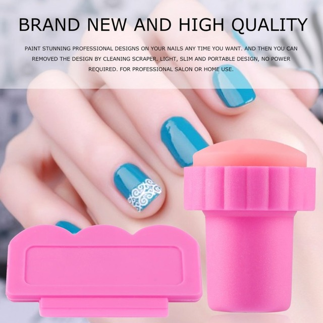Unique Design New Nail Art Stamping Stamp Tools Sing Knife Set Good Plate