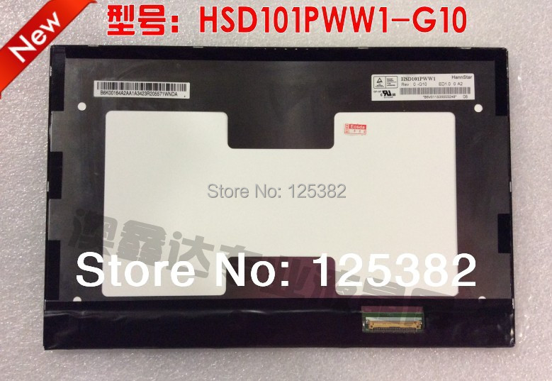 NEW A+ 10.1 LED for ME301 Laptop LCD Screen HSD101PWW1 G10 G00 IPS 40pin only LCD