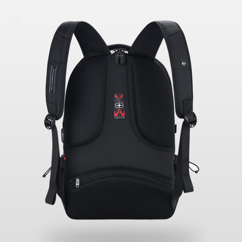 Image 5 - svvisssvver male Multifunction USB charging fashion business casual travel anti theft waterproof 15.6 inch Laptop men backpack-in Backpacks from Luggage & Bags