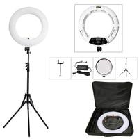 Yidoblo белый FD 480II 18 Студия затемнения светодио дный кольцо осветительный набор 480 светодио дный видео свет лампы фотографическое освещение +