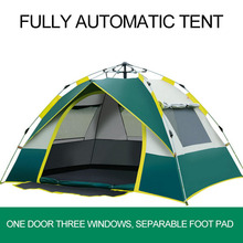 1-4 Person Camping Tent Fully Automatic Beach Camping Fishing Hiking Tent Portable Outdoor Supplies 210*200*140CM/210*140*110CM 2018 best selling camping outdoor leisure free building multi purpose fishing wild supplies off site tent bed