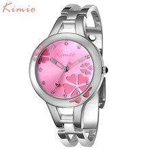 2016 Para Mujer Relojes Top Brand reloj de Cuarzo Reloj de Vestido de Las Mujeres Discolor Flor Dial Reloj Pulsera Relojes de Pulsera de Las Mujeres Ocasionales
