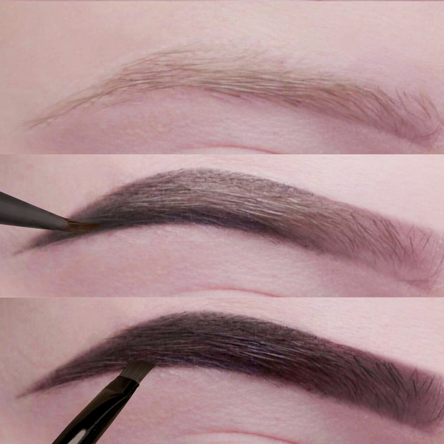 Eyebrow Enhancers Eyes Makeup Professional Eye Brow Dye Cream Pencil Long-lasting Waterproof Brown Tint Paint Henna Eyebrows