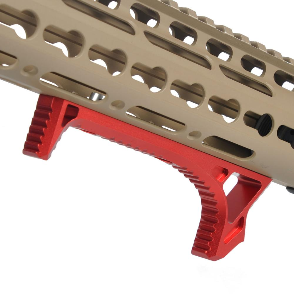 Keymod MLOK Hand Stop Grip Airsoft Accessories Paintball Foregrip Outdoor Sports Handstop-in Paintball Accessories from Sports & Entertainment