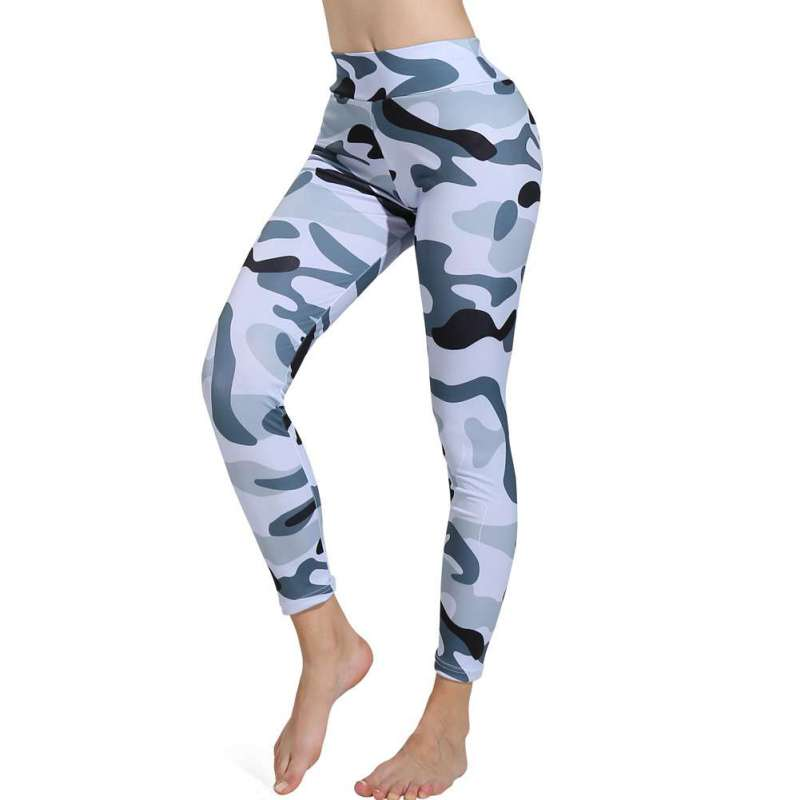Fashion Pant For Women Camouflage Printed Trousers High Waist Leggings