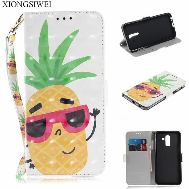 save off 63a83 96bcd US $3.19 20% OFF|For Samsung Galaxy On8 2018 Case Flip Cover PU Leather  Phone Case For Samsung On8 2018 J810G J810 J810GF SM J810GF/DS Case 6.0-in  ...