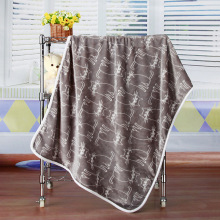Flannel Coral Velvet Air Conditioning Blanket Nap Blanket Cartoon Blanket Printing Blanket стоимость
