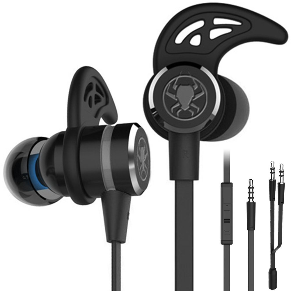 Gaming headphones With Mic Wired E-Sport Earphone Noise Cancelling Stereo Bass Gamer Headset Earbuds For Xbox PS4 PC smartphone