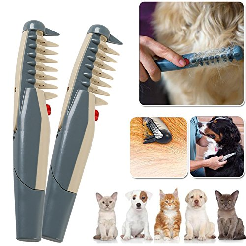 Electric Pet Dog Cat Grooming Comb Groomer Haircuts Tools Scissor Trimmer Hair Beauty