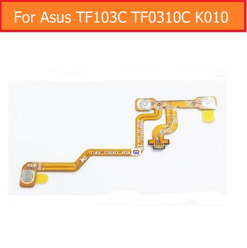 100% Genuine switch power Flex cable For Asus TF103C TF103 k018 K010 Transformer pad volume button flex cable sidekey_6pin_FPC weeten genuine lcd panel flex cable for asus transformer pad tf701t k00c lcd display flex cable