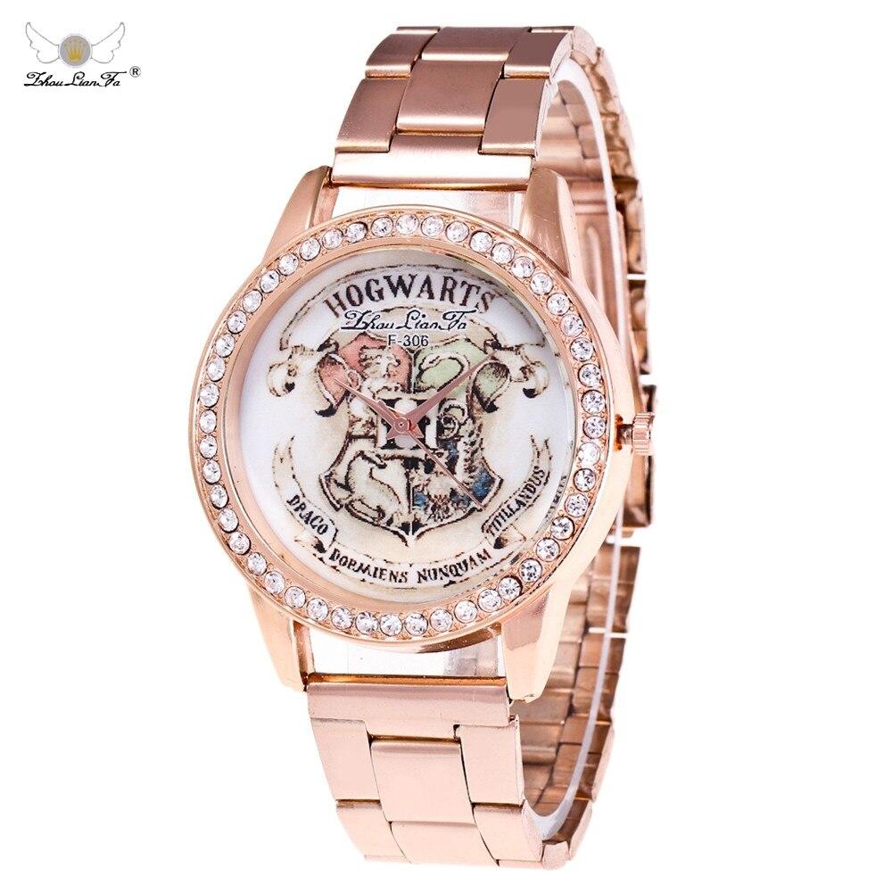 Zhou Lian Fa Luxury Brand Men Women Sports Watch Casual Women Crystal Dress Wristwatch High Quality Stainless Steel Clockss