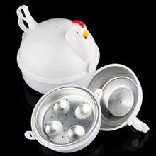NEW Chicken Shaped Microwave 4 Eggs Boiler Cooker NOVELTY Kitchen Cooking Appliances Steamer Home Tool