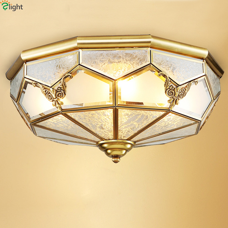 Europe Lustre Copper Led Ceiling Lights Luminarias Carved Glass Bedroom Led Ceiling Lamp Fixtures Led Ceiling Light LamparasEurope Lustre Copper Led Ceiling Lights Luminarias Carved Glass Bedroom Led Ceiling Lamp Fixtures Led Ceiling Light Lamparas