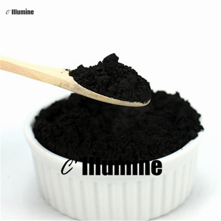 Bamboo Charcoal Powder Black Color  Materials For Skin Care Makeup Handmade Soap Powder