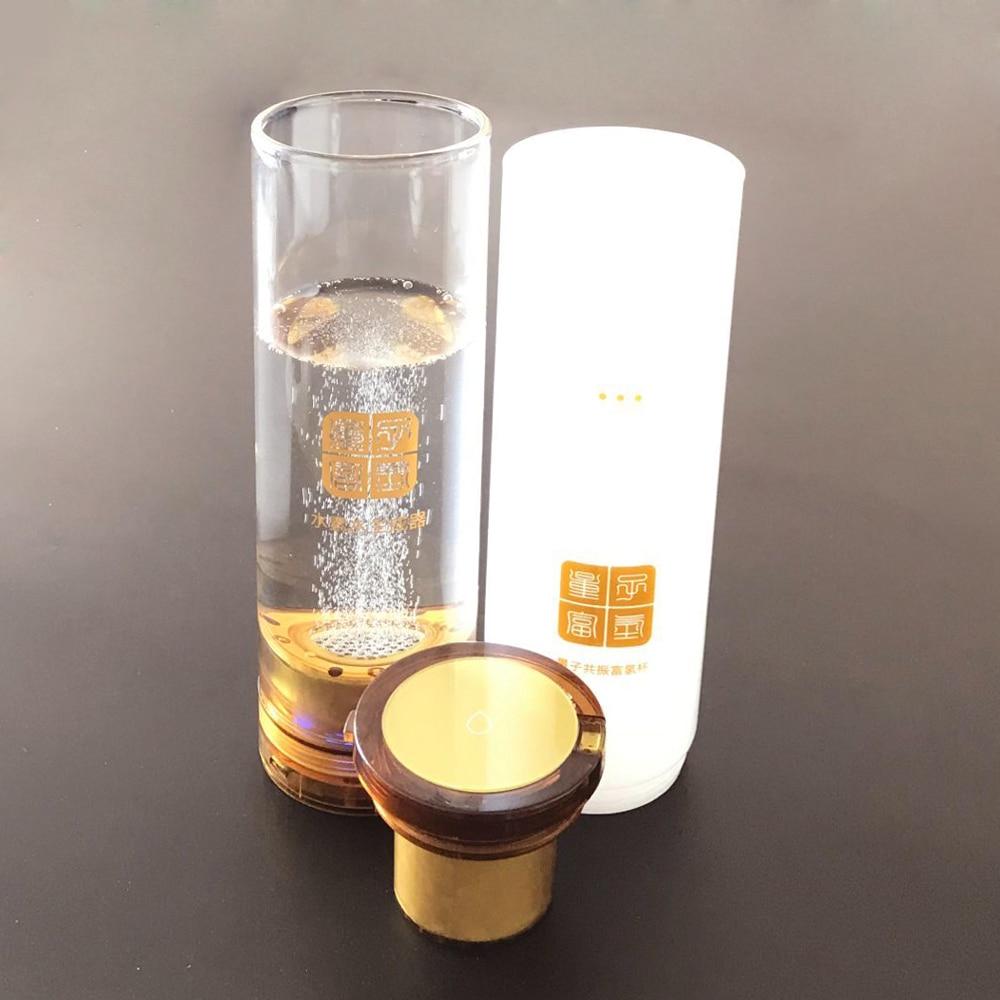 Molecular Resonance Effect Technology MRET OH and Electrode Titanium platinum electrolysis hydrogen water H2 generator water cup