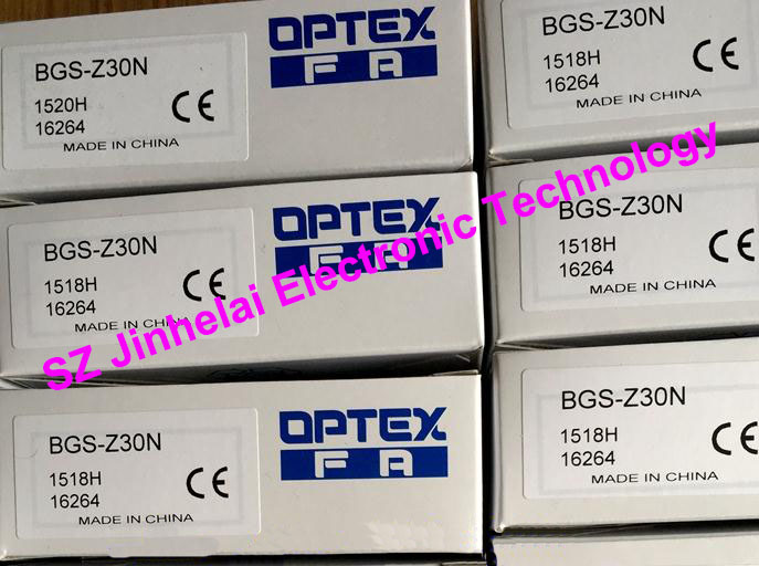 New and original  BGS-Z30N  OPTEX   PHOTOELECTRIC SWITCH new and original zr 350n optex photoelectric switch photoelectric sensor