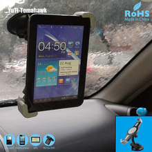 Universal Car Tablet PC Holder Stand for iPad 2 3 4 Ipad Air 2, Samsung P1000 And Other 7-10 inches Tablet PC, Windshield Mount