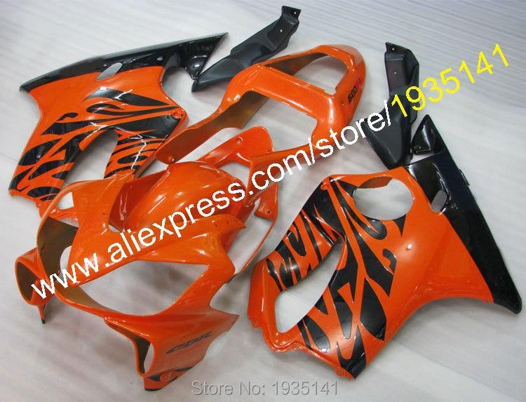 Hot Sales,For Honda CBR600 F4i 01-03 CBR 600 F4i 2001 2002 2003 CBR 600F4i Orange Black Motorcycle Fairing (Injection molding) 100% injection molding repsol for honda fairing parts cbr 600 f4i 01 02 03 cbr600 f4i 2001 2002 2003 body repair parts shjg