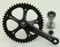 고정 기어 자전거 chainwheel/prowheel SOLID-246T 48 t crankset/자전거 chainwheel 가수 속도 레이싱 알루미늄 합금 170mm 크랭크
