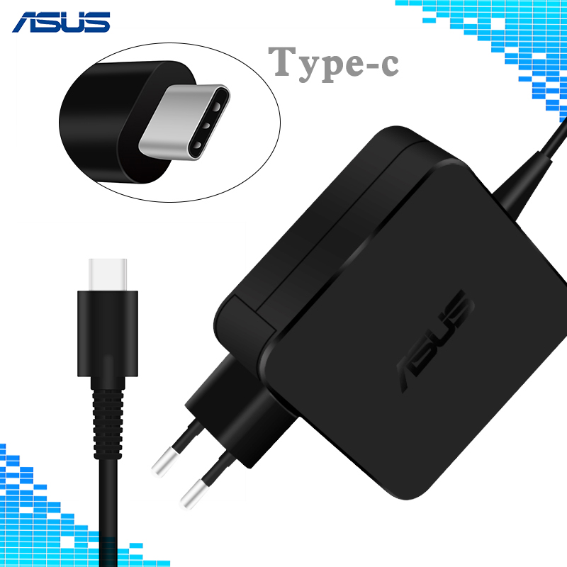 For Asus Laptop 45W Type-C AC Adapter Charger Power Supply r