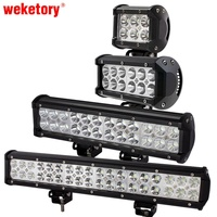 2pcs 7 Inch 36W Cree LED Work Light Lamp For Motorcycle Tractor Boat Off Road 4WD