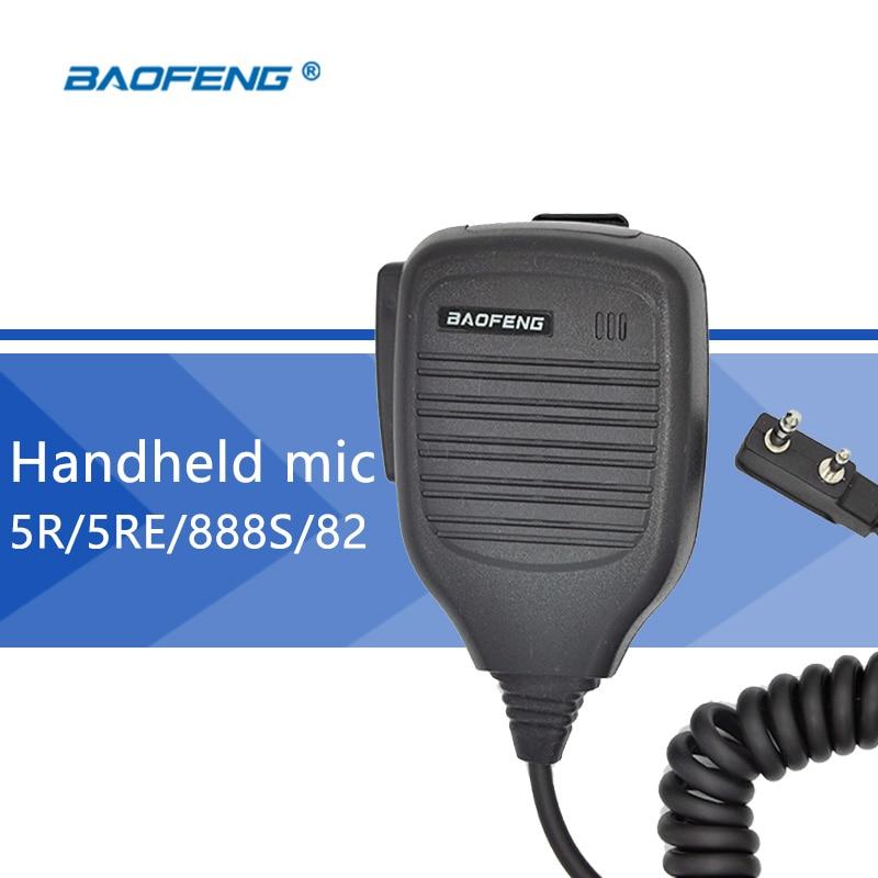 bilder für Baofeng handheld mikrofon für baofeng uv-5r walkie talkie lautsprecher mic mikrofon für tragbare cb radio für bf-888s uv-82