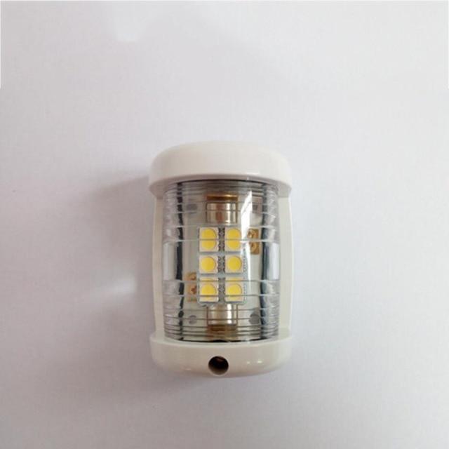 $ 12.15 12V Marine Boat Yacht LED Navigation Light White Masthead 225 Degree Mini Size Lamp
