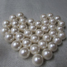 3-40MM ABS No Hole White Round Imitation Pearls Beads Round Loose Beads Handmade DIY Jewelry Making(China)