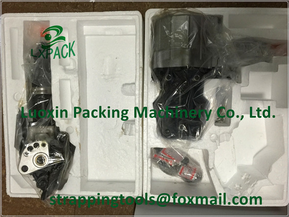 LX-PACK Factory Prices! KZ-19 Pneumatic Combination Steel Strapping Banding Tool For 19mm Steel Packing Strap free shipping pneumatic split separation steel strapping packing tool steel strapping machine for 32mm steel strap