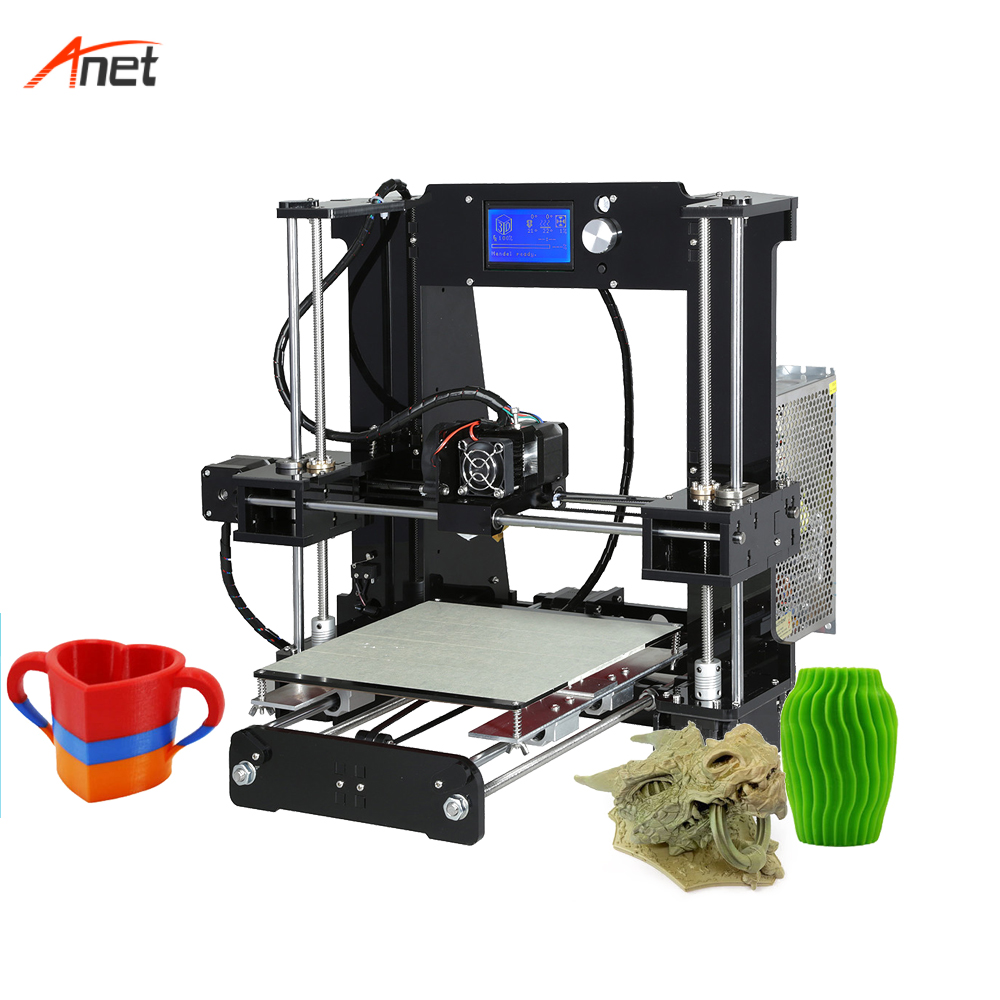 Anet A6 22 22 25cm Print Size Impressora 3d 40 120mm s Printing Size Single Color