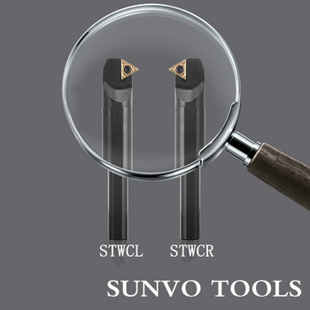 S14N/S16Q-STWCR09/STWCL09/STWCR11/STWCL11 Use Carbide Insert TCGT TCMT 110204/110202/09T304 Internal Turning Tools STWCR STWCL image