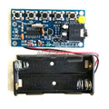 Free Shipping 1Pcs Standard Wireless Stereo FM Radio Receiver Module PCB DIY Electronic Kits 76MHz-108MHz
