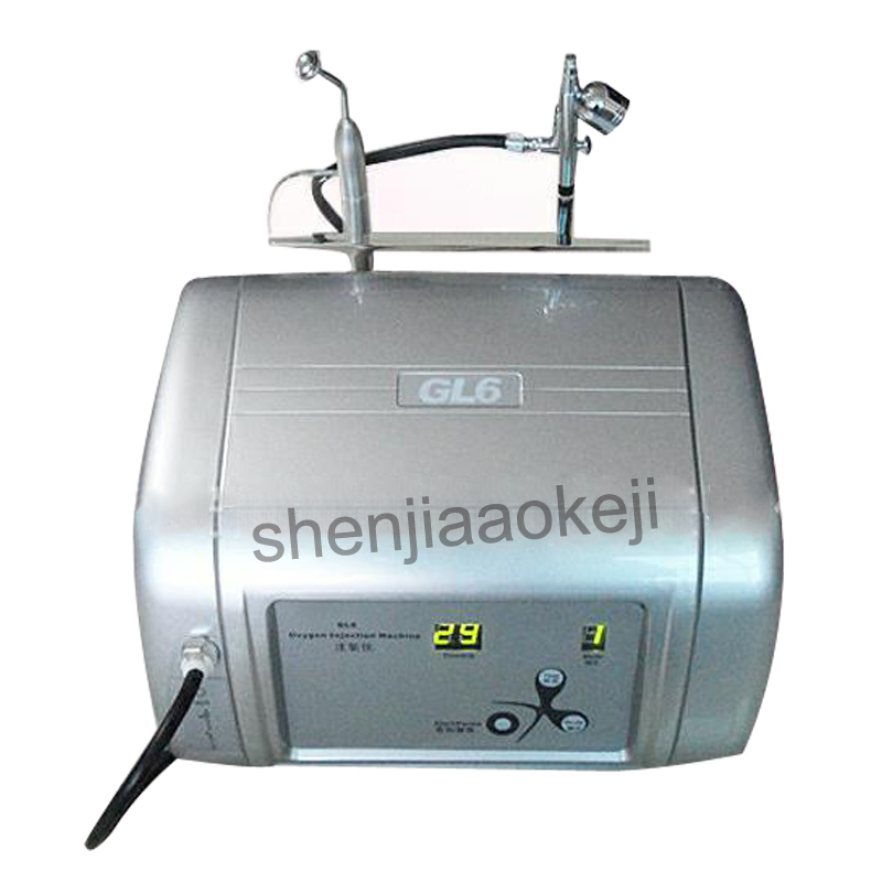 Facial Water Injection Spray Moisturizing Skin O2 Infusion Machine Beauty Instrument SPA Face Massager Machine 220V 75W 1PCFacial Water Injection Spray Moisturizing Skin O2 Infusion Machine Beauty Instrument SPA Face Massager Machine 220V 75W 1PC