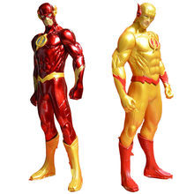 Liga Da Justiça Superman Superhero The Flash Pvc Action Figure Anime Toy Figuras de Ação Pvc Model Collection(China)