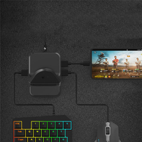 Keyboard Mouse Converter Adapter Dock for Android system PC Game Controller Holder Plug and play Gamepad Converter Station