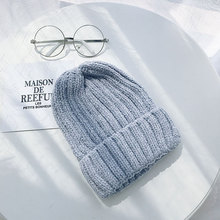 Solid Knit  Beanies Hats Winter Hats For Women Skullies Beanies For Girls Caps Hats Hip Hop Cap Bonnet Warm Caps Gorros Winter недорго, оригинальная цена