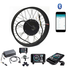 TFT display system 5000w electric Fat Bike conversion kit sabvoton controller 100KM/H max speed brand new japan genuine speed controller as1211f m5 06