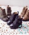 BJD doll shoes 1/6 boots yosd black grey brown