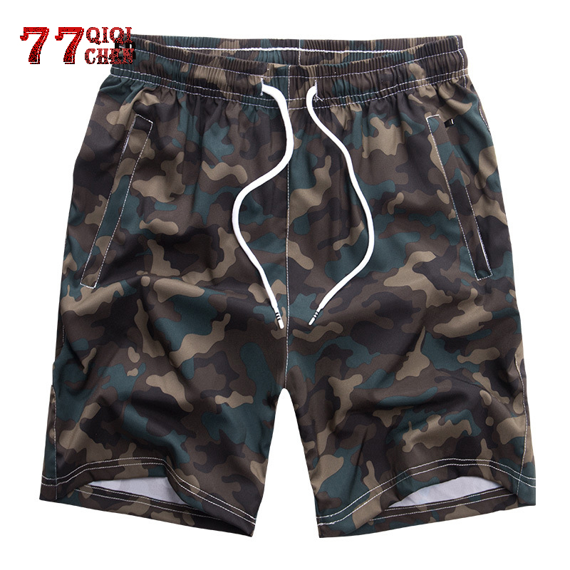 Camouflage Shorts Men Quick Drying Plus Size 7XL 8XL Mens Shorts 2019 New Summer Breathable Sportswear Short Pants Male Joggers